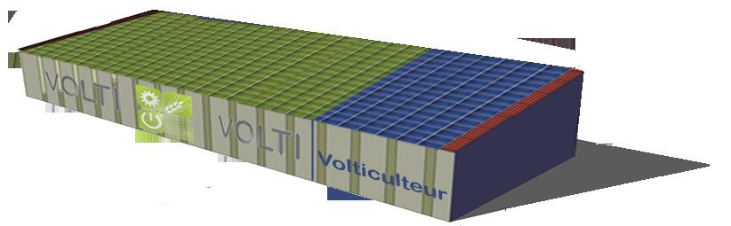 Volti r novation photovoltaique de votre batiment agricole for Garage photovoltaique gratuit
