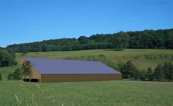 Volti votre hangar solaire photovoltaique agricole gratuit - Hangar photovoltaique agricole gratuit ...