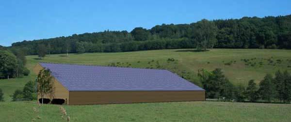 Volti installation solaire photovolta que agricole et rurale - Hangar photovoltaique agricole gratuit ...