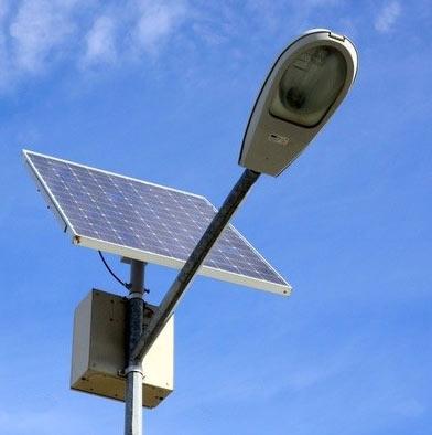 Volti Lampadaire Photovoltaique Pour Eclairage Jardin Et Route